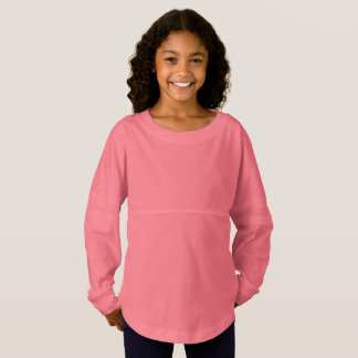 Coral Girls' Spirit Jersey Shirt