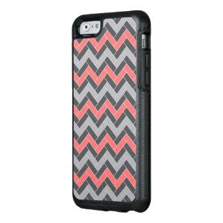 Coral Gray Herringbone OtterBox iPhone 6/6s Case