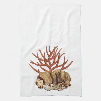 Coral Hand Towel