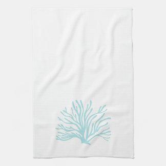 Coral Kitchen Towel