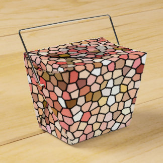 Coral Mosaic Beads 5050 favor box