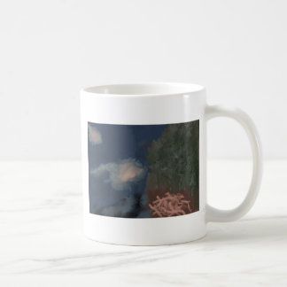 Coral nest classic white coffee mug