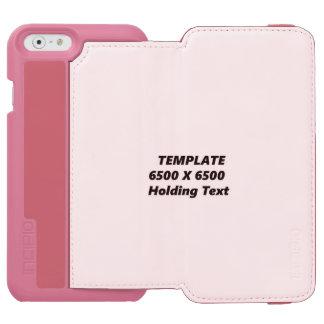 CORAL PHONE CASE HORIZ INCIPIO WATSON™ iPhone 6 WALLET CASE
