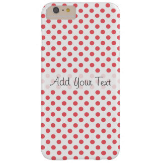 Coral Pink Polka Dots by Shirley Taylor Barely There iPhone 6 Plus Case