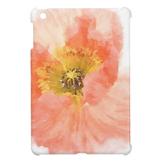 Coral Poppy Cover For The iPad Mini
