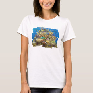 Coral Reef and Reef Fish T-shirt