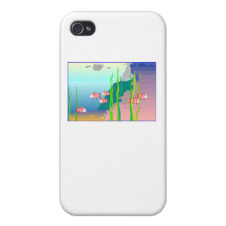 Coral Reef Case For iPhone 4