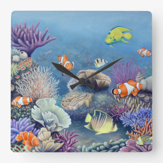 Coral Reef clock