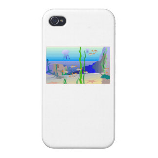 Coral Reef Covers For iPhone 4