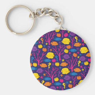 Coral Reef Crew Keychain