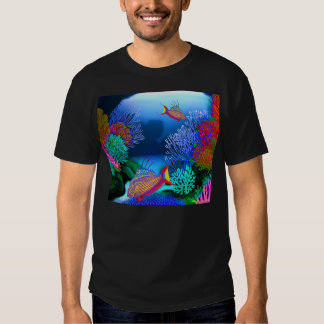 Coral Reef Flasher Wrasse Fish T-Shirt