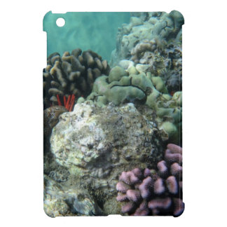 Coral reef cover for the iPad mini