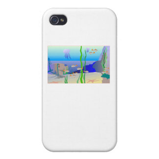 Coral Reef iPhone 4/4S Cover