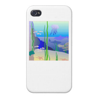 Coral Reef iPhone 4 Cases