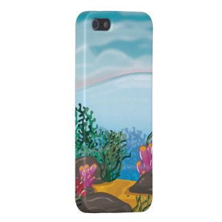 Coral Reef landscape cartoon Case For iPhone 5/5S