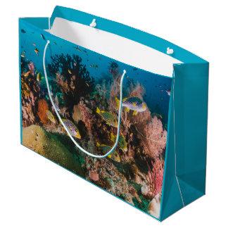 Coral Reef large gift bag