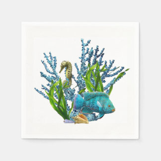 Coral Reef Paper Napkins