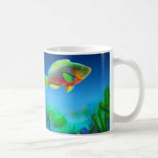 Coral Reef Parrotfish Mug