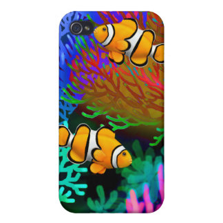Coral Reef Percula Clown Fish Speck Case iPhone 4/4S Covers