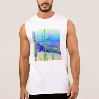 Coral Reef Sleeveless T-shirt