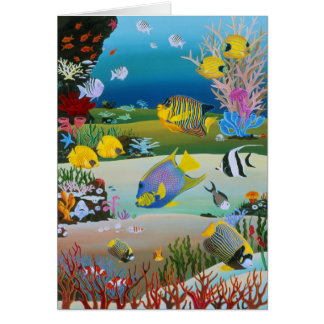 Coral Reef Too Card