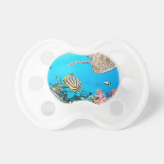Coral Reef Turtle Naturescape Baby Pacifier