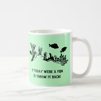 Coral Reef with Fish Swimming Coffee Mug