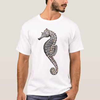 Coral Reef Zebra Seahorse T-Shirt