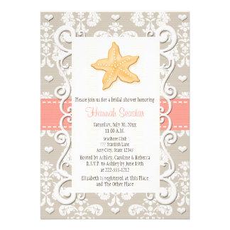 bridal shower beach theme invites 600 bridal shower beach theme invitation templates. Black Bedroom Furniture Sets. Home Design Ideas