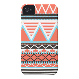 Coral Tribal iPhone 4 Cover