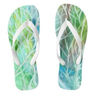 Coral View Flip Flop Sandals Flip Flops