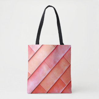 Coral Wall Photography Tote
