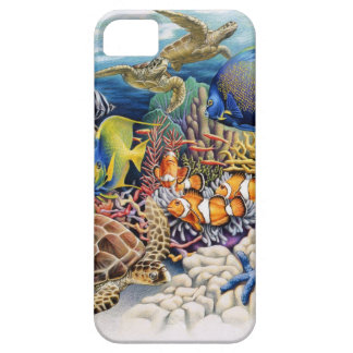 Coral Waters With Tropical Fish iPhone 5 Cover