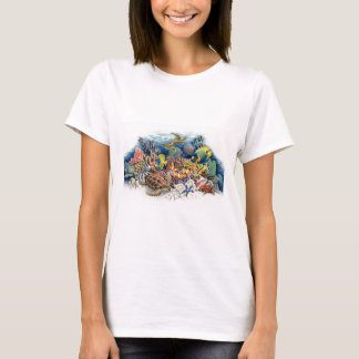 Coral Waters With Tropical Fish T-Shirt