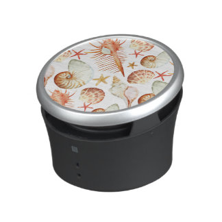 Coral With Shells And Crabs Pattern Speaker