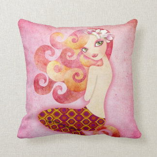 Coraleen Mermaid American MoJo Pillow