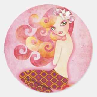 Coraleen Mermaid Stickers Seals
