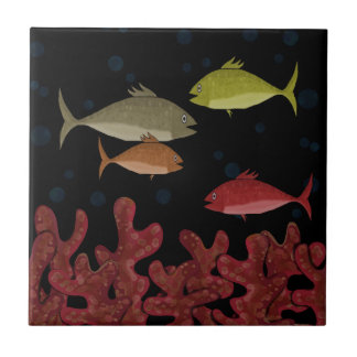 Corals and fish tiles