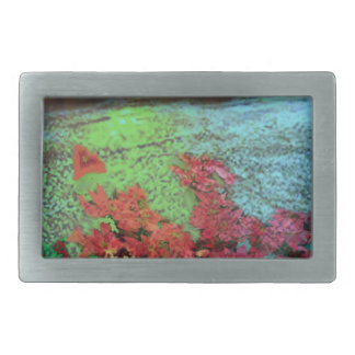Corals and Flowers. Rectangular Belt Buckles