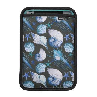 Corals With Shells Pattern iPad Mini Sleeves