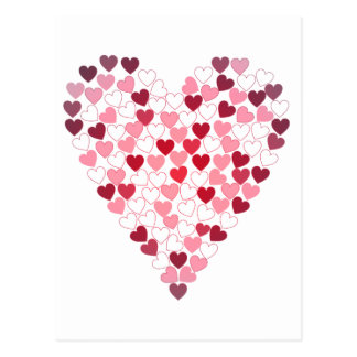 Corazon de Corazones - Heart of Hearts Postcard