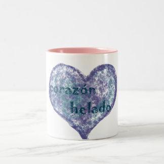 Corazon Helado Two-Tone Coffee Mug