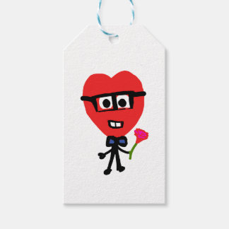 corazon nerd pack of gift tags