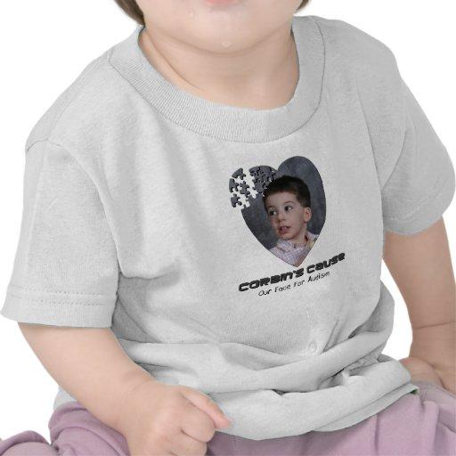 Corbin's Cause infant tee