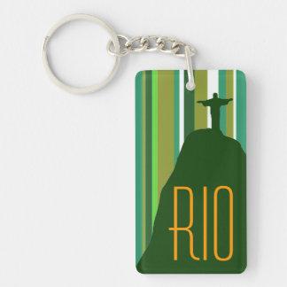 Corcovado Jesus Christ Rio Keychain