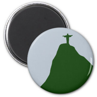 Corcovado mountain magnet