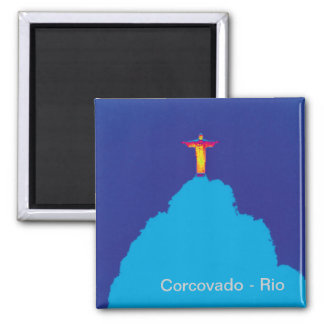Corcovado Rio Brasil Magnet