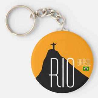 Corcovado - RJ - Brasil Keychain