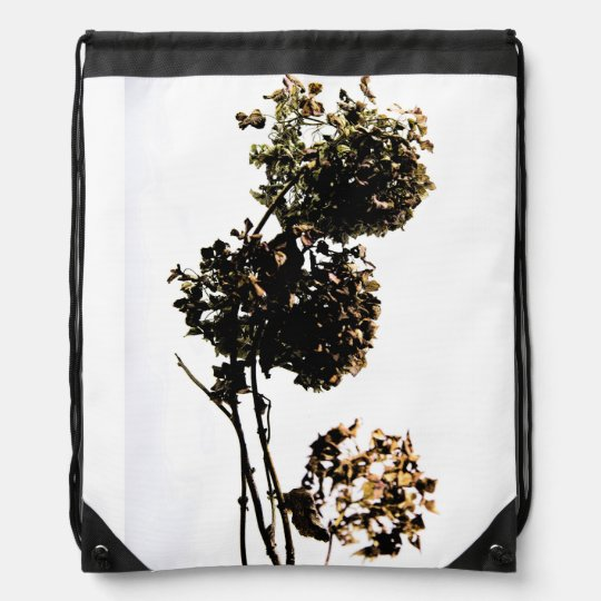 """cord bag of """"the beautiful flower """" drawstring bags"""