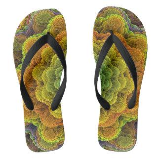 Cord sample flip flops